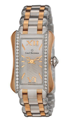 Carl F. Bucherer 宝齐莱新作ALACRIA MINI TWO TONE
