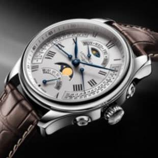 THE MASTER COLLECTION RETROGRADE MOON PHASES by Longines
