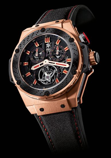 KING POWER TOURBILLON F1 48MM by Hublot