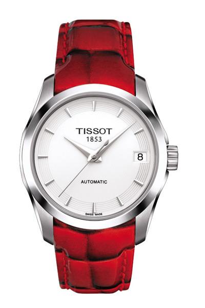 天梭 Tissot 节日特别款对表发布图片
