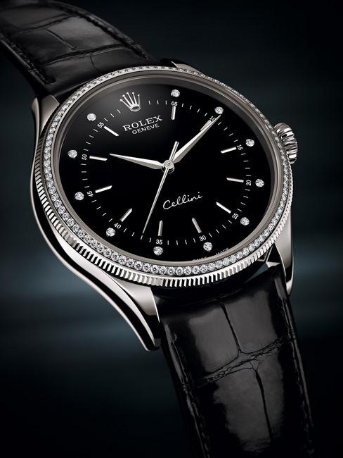 2015年巴塞尔钟表展ROLEX推出Cellini Time系列新款,向传统制表的永恒法则致敬